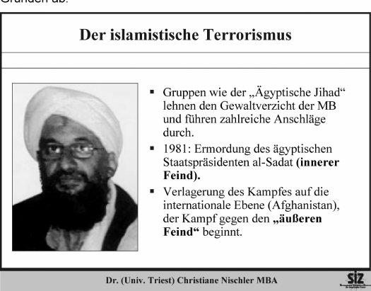 Wie kommt es vom Islamismus zum islamistischen Terrorismus ...